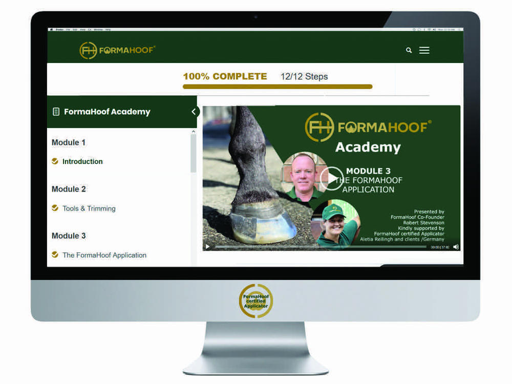 FormaHoof launches online Training Academy