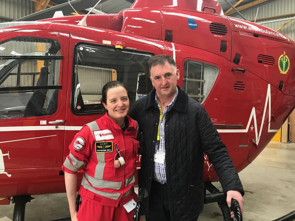 New group hoping to 'keep the air ambulance flying'