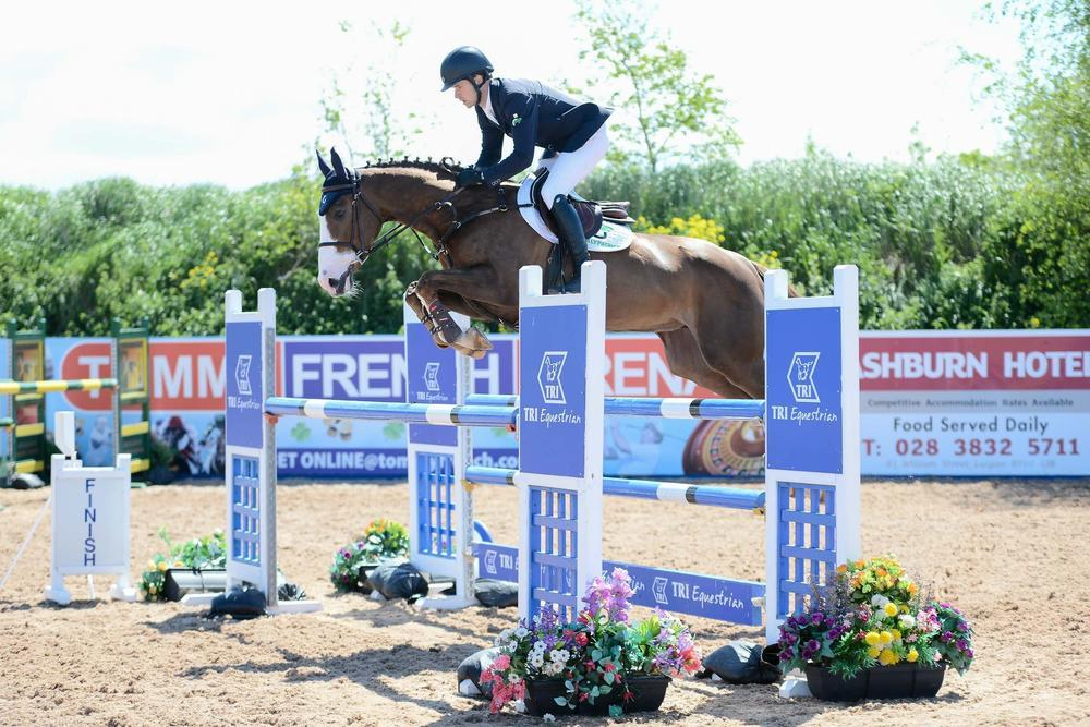 Hat-trick for Ahearne at RDS Young Horse qualifiers at the Meadows